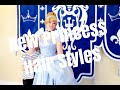DISNEY PRINCESS HAIR AT GRAND FLORIDIAN SALON - YouTube
