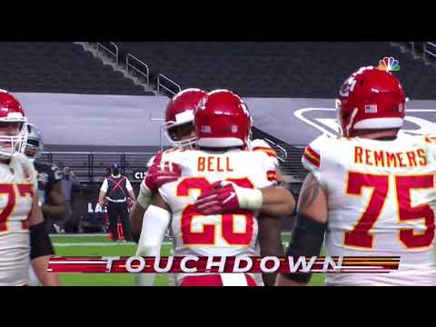 Le'Veon Bell First Touchdown w/ Chiefs