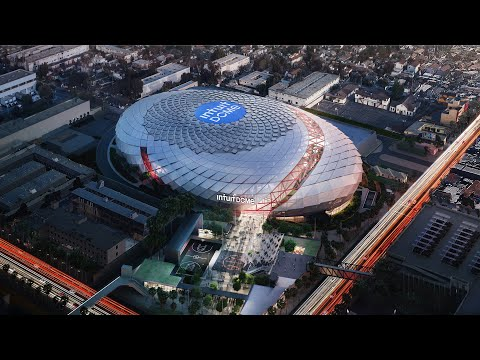 Introducing the Intuit Dome. Future home of the LA Clippers