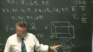 Lecture 05: Math 020 Pre Algebra