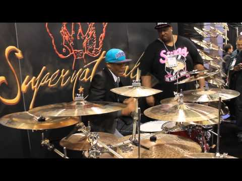 Namm 2013 Supernatural Cymbals Eric Moore &#038; Mason Guidry