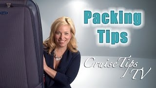 Video:  How to pack for your next Cruise