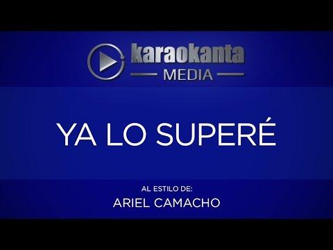 Ya lo superé Ariel Camacho