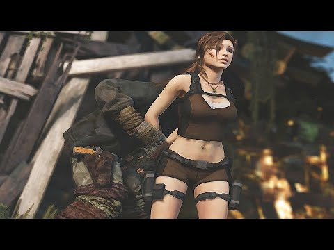 Lara Gets Captured - Tomb Raider