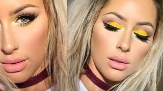 Spring Makeup Tutorial NEON YELLOW- Chrisspy by Chrisspy