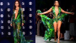 The Versace Dress: Then & Now | I closed the show!!!