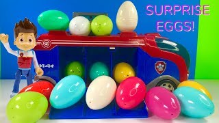 Learn Colors with Paw Patrol Mission Surprise Eggs Learning for Kids & Children  | Fizzy Fun Toys