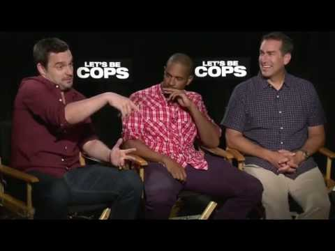 Jake Johnson Being Funny In Let's Be Cops Interviews