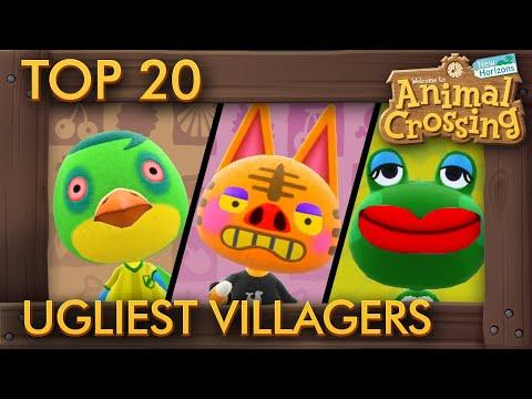 Top 20 Ugliest Villagers in Animal Crossing New Horizons