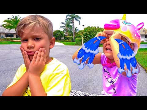 Diana and Roma help each other - Boo Boo stories for kids