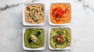 Hummus 4 Ways by Tasty