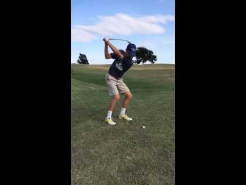 Heston Brown 2017 Golf Skills Video