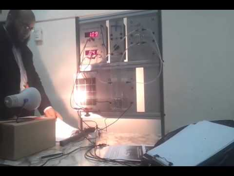 Power System Experiment : Fuel Cell Power Generator
