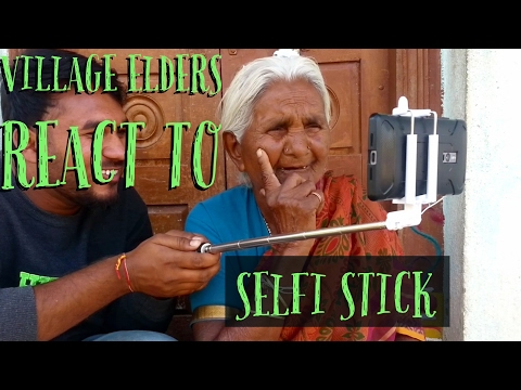 Village Elders react to selfie stick