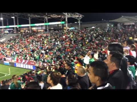 Mexico vs Bolivia en Dicks Sporting Park Commerce City Co