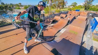 Video LITTLE BROTHER ATTEMPTS MEGA RAMP ON SCOOTER! *GOODBYE RYAN* MP3, 3GP, MP4, WEBM, AVI, FLV Maret 2019