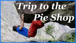 Bouldering at Wavelength and PieShop - Llanberis Pass by The Climbing Nomads