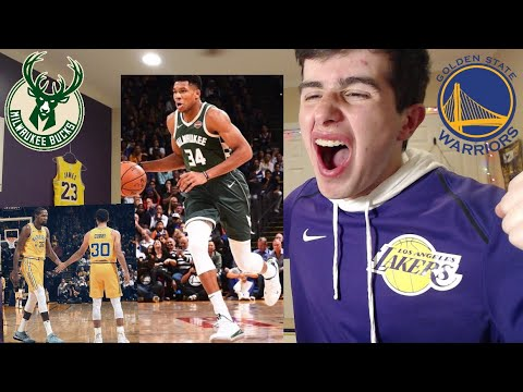 WARRIORS HATER REACTS TO WARRIORS VS BUCKS!! LETS GOOO!!! NBA GAME OF THE YEAR!