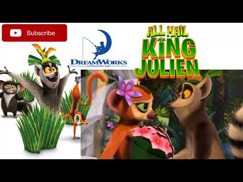 King Julien says goodbye to Clover - ALL HAIL KING JULIEN (Madagascar) | DreamWorks & Netflix