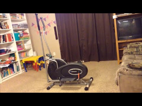 REVIEW & DEMO Exerpeutic 260 Air Elliptical Machine Walmart Walmart.com BEST SELLER