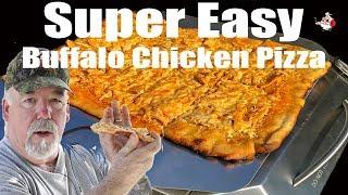 Video SUPER EASY BUFFALO CHICKEN PIZZA ~ Recipe MP3, 3GP, MP4, WEBM, AVI, FLV Juni 2019
