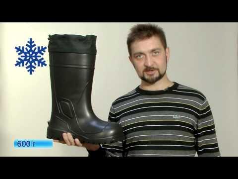 Відеоогляд чобіт для зимової рибалки NordMan Extreme