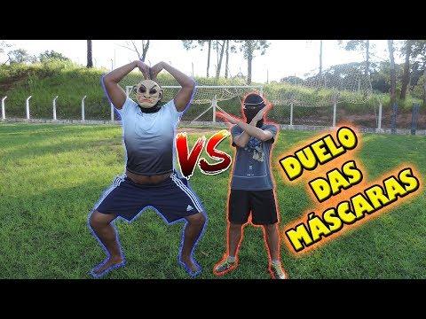 PRODUTOR VS NINJA ( O duelo das Mascarás) Desafios de Futebol