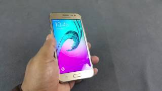 Samsung Galaxy J2 Notification LED, Adaptive display, Proximity sensor test