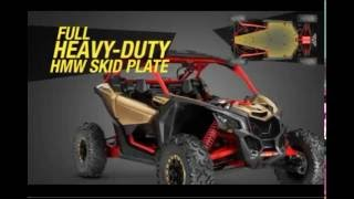 6. 2017 Can-Am Maverick X3 - Full In Depth Specifications
