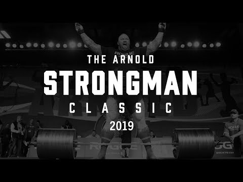 Fitness - 2019 Arnold Strongman Classic  Full Live Stream Day 2  Final Event - Stone to Shoulder
