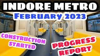 Indore Metro Deadline, Construction and Progress || MetroRail Blog