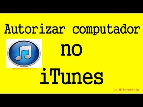 Como autorizar o computador no iTunes - MiTutoriais