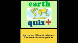 Video review Earth Quiz + a geo trivia game - 6.0