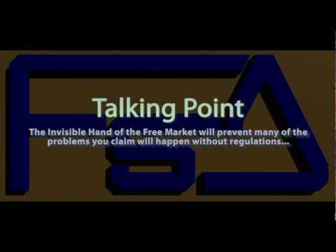 Talking Points: The Invisible Hand of the Free Market will ensure...
