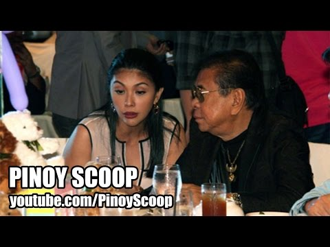 Pops Fernandez And Chavit Singson Spotted At Baby Aria Gutierrez's Baptismal Party