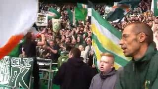 Celtic FC install safe standing Railseats by Ferco