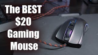 Welcome to Melonic!Buy it here: http://amzn.to/2sNhROgToday we are going to be reviewing the Hiraliy F300 RGB Gaming Mouse. The Hiraliy F300 is a $20 gaming mouse with really nice switches. The Mouse features its RGB lighting and fantastic build quality. In my opinion it is the BEST budget gaming mouse. It also very clearly clones the Razer Mamba. Very well at that. Anyways I hope you guys enjoy the review of the Hiraliy F300 RGB Mouse. Kit Setups:https://kit.com/Melonic/gaming-setuphttps://kit.com/Melonic/camera-equipmenthttps://kit.com/Melonic/on-the-go-gaming-setupConnect with us:Teamspeak 3: Infamous.Ts.NFOServers.comTwitter: Melonic_Instagram: Melonic_Thank you so much for watching if you enjoyed please leave a comment, like, subscribe and share!