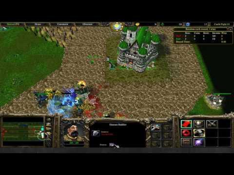 Dread's stream. Warcraft III Castle Fight, Battle Tanks / 22.05.2017 [3]