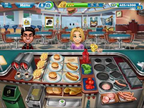 Cooking Fever - Fast Food Court (Levels 1-10)