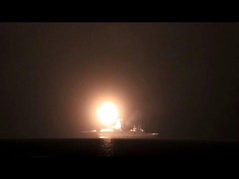 Минобороны показало видео пуска гиперзвуковой ракеты «Циркон»