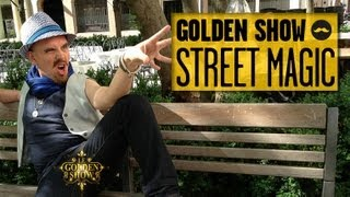 GOLDEN SHOW - Street Magic - YouTube