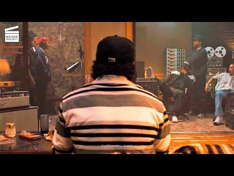 Straight Outta Compton: Studio session