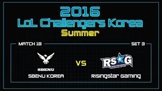 SBENU vs RSG, game 3