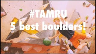 Route setters best blocks! #TAMRU charity competition. by Arch Climbing