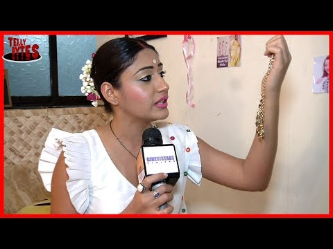 Surbhi Chandna aka Anika Receives Gift