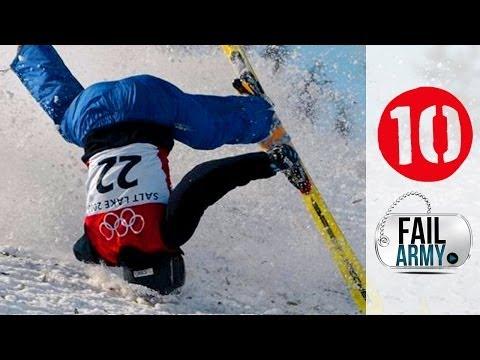 (WATCH!)  Epic Winter Sports FAIL!