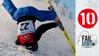 10 Winter Sports Fails - YouTube