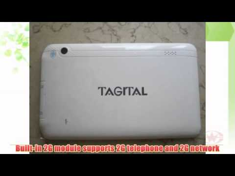 Tagital® 7 Android 4.0 Bluetooth Phone Tablet GSM Dual Camera Unlocked Play Store Pre-installed