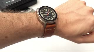I've not got my hands on a Gruppo Gamma since 2014, so I was looking forward to taking a look at the Vanguard A-04. It's a belter of a watch for $499, no doubt about it: excellent build quality and lume like no other makes it really impressive in the hands. If you do decide to go for the Vanguard, then you can get a cheeky $100 off until 31st July 2017 using the code MKIV0303. You're welcome.Read the full review here: https://www.watchitallabout.com/gruppo-gamma-mk-iv-vanguard-a-04-watch-review/