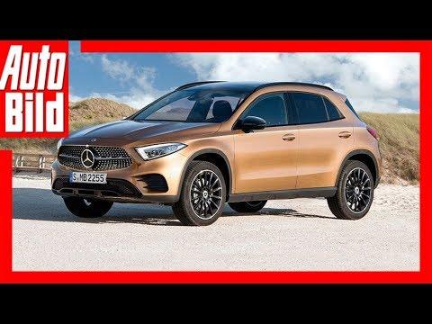Mercedes-Benz GLA - optisch nah an der neuen A-Klasse / ...